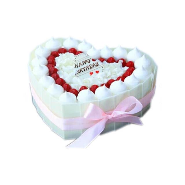 爱心巧克力(麦香蛋糕)