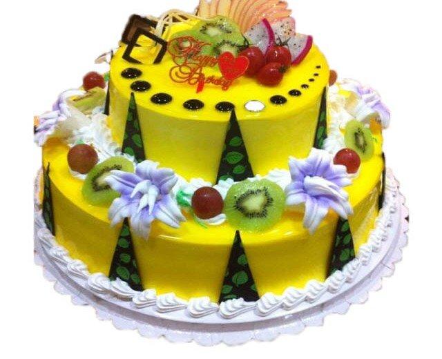 厦麦面包店-双层水果欧式蛋糕-蛋糕叔叔